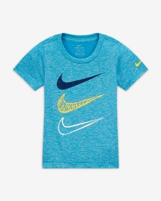 KIDS Toddler T-Shirt and Shorts Set Nike Dri-FIT
