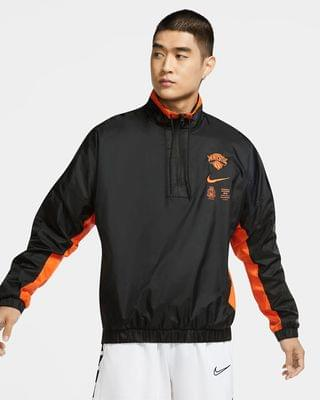 MEN Men's Nike NBA Tracksuit Jacket New York Knicks Courtside