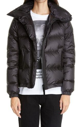 WOMEN Sacai Flare Back Puffer Jacket