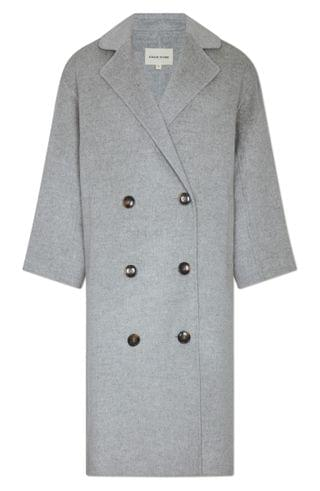 WOMEN Loulou Studio Double Breasted Wool & Cashmere Coat