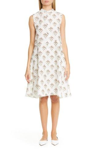 WOMEN Brock Collection Roma Floral Print A-Line Dress