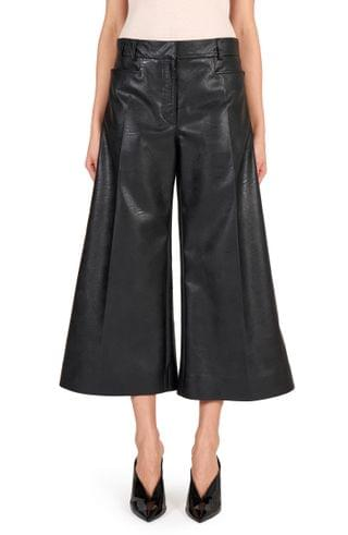 WOMEN Stella McCartney Charlotte Faux Leather Culottes
