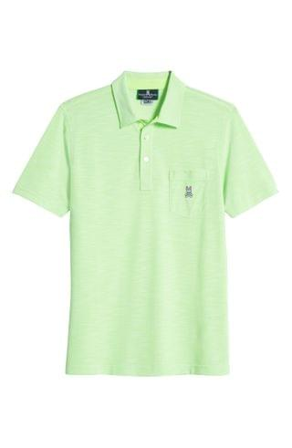 MEN Psycho Bunny Shanklin Piqu Pocket Polo
