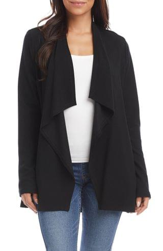 WOMEN Karen Kane Drape Collar Open Front Jacket