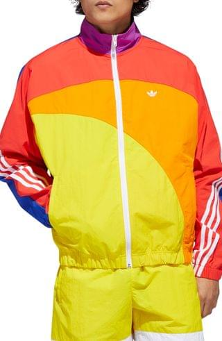 MEN adidas Originals Pride Off-Center Nylon Jacket