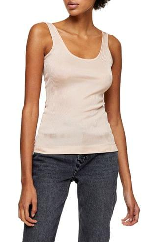 WOMEN Topshop Boutique Ribbed Tank Top