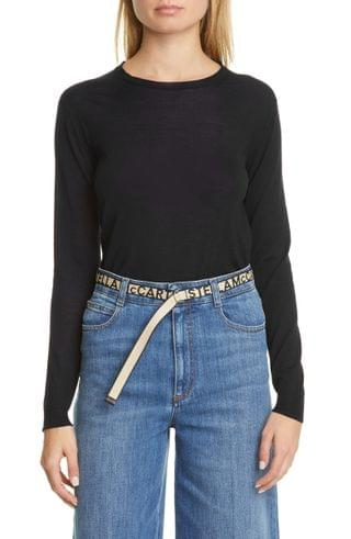 WOMEN Stella McCartney Crewneck Wool Sweater