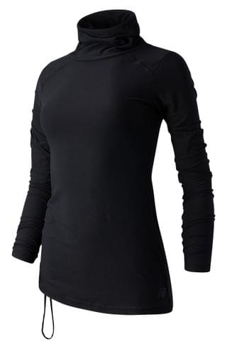 WOMEN New Balance Transform Cowl Neck Sweatshirt