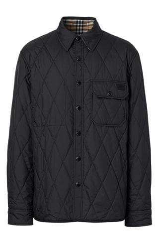 MEN Burberry Cresswell Reversible Quilted Jacket