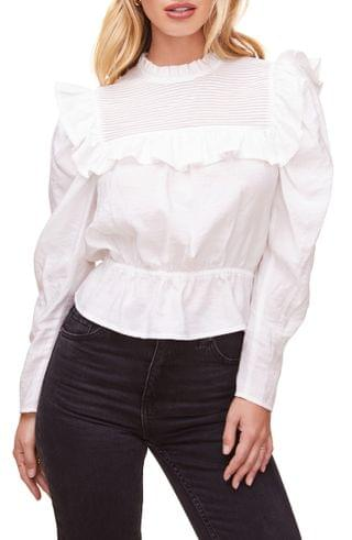WOMEN ASTR the Label Alcott Ruffle Top