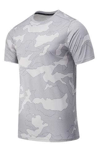 MEN New Balance Accelerate Camo Performance T-Shirt