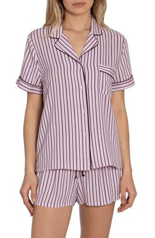 WOMEN In Bloom by Jonquil Beautiful Dreamer Stripe Short Pajamas (Nordstrom Exclusive)
