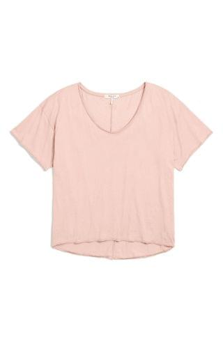 WOMEN rag & bone The Gaia Organic Pima Cotton T-Shirt