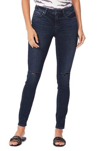 WOMEN PAIGE Verdugo Ripped Ultra Skinny Jeans (Seline Destructed)