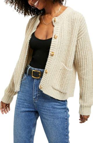 WOMEN BDG Urban Outfitters Shaker Stitch Cardigan