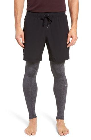 MEN Alo Stability 2-in-1 Athletic Tights