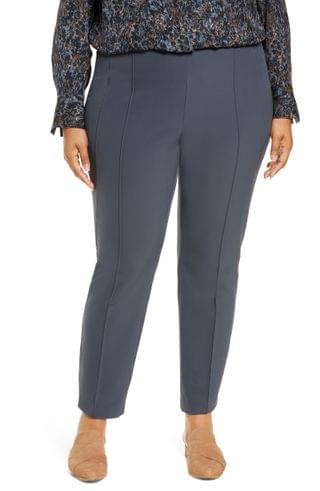 WOMEN Lafayette 148 New York Acclaimed Gramercy Stretch Pants (Plus Size)