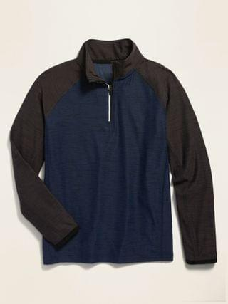 KIDS Ultra-Soft Breathe ON 1/4-Zip Performance Top for Boys