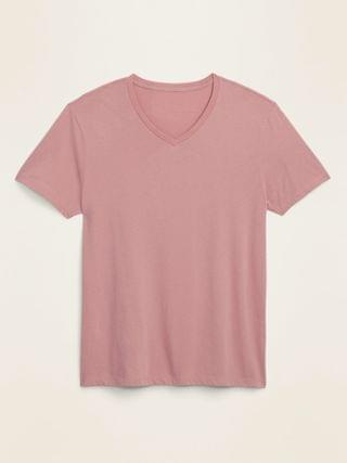 MEN Soft-Washed Perfect-Fit V-Neck Tee for Men