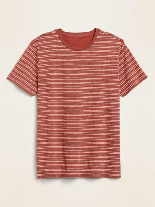MEN Soft-Washed Printed Crew-Neck Tee for Men