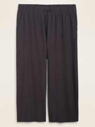 WOMEN High-Waisted Breathe ON Plus-Size Crop Pants