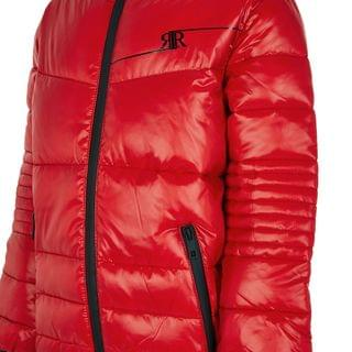 KIDS Boys red padded jacket