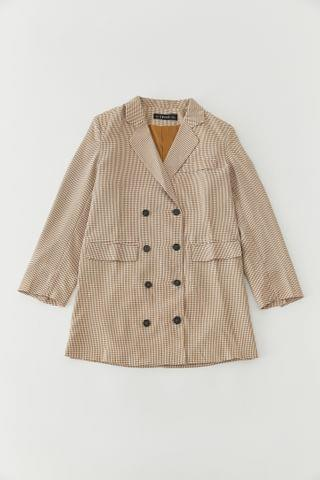 WOMEN Lioness Gingham Blazer Dress