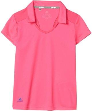 KIDS Solid Fashion Polo Shirt (Little Kids/Big Kids). By adidas Golf Kids. 40.00. Style Shock Pink.
