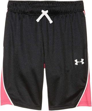 KIDS Basketball Shorts (Big Kids). By Under Armour Kids. 21.25. Style Black/Pink Surge/White.