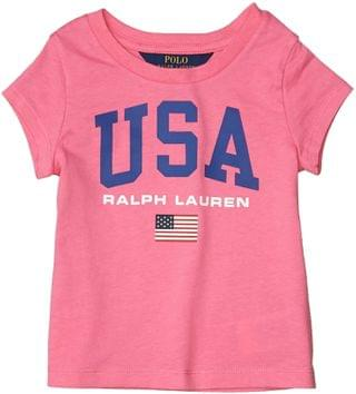 KIDS Cotton Jersey Graphic Tee (Toddler). By Polo Ralph Lauren Kids. 20.65. Style Baja Pink.