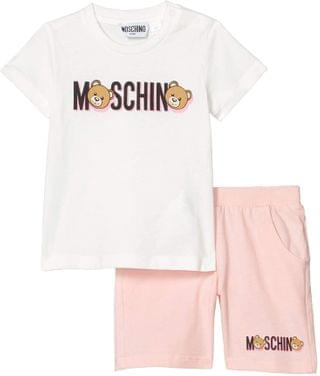KIDS Printed T-Shirt and Shorts Set (Infant/Toddler). By Moschino Kids. 66.33. Style Rose.