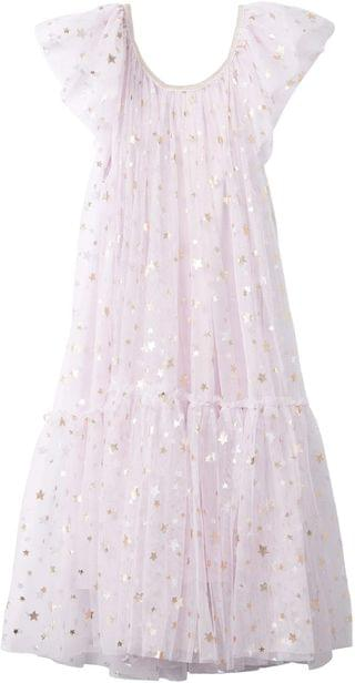 KIDS Iris Tulle Dress (Toddler/Little Kids/Big Kids). By COTTON ON. 39.99. Style Lavender Fog/Stars.