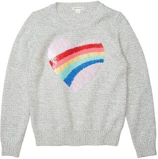 KIDS Sequin Sweater (Toddler/Little Kids/Big Kids). By crewcuts by J.Crew. 40.99. Style Heather Grey.