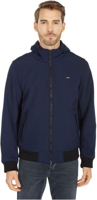 MEN Performance Soft Shell Hooded Bomber Jacket. By Levi's . 160.00. Style Midnight.