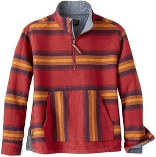 WOMEN 1/2 Zip Pullover. By Pendleton. 67.05. Style Red Multi Stripe.