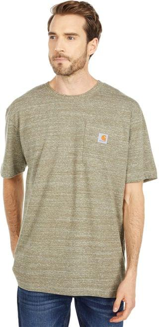 MEN Workwear Pocket S/S Tee K87. By Carhartt. 16.99. Style Winter Moss Snow Heather. Rated 5 out of 5 stars.