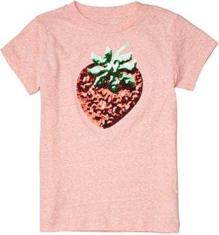 KIDS Short Sleeve Sequin Strawberry Graphic Tee (Toddler/Little Kids/Big Kids). By crewcuts by J.Crew. 29.33. Style Sequin Strawberry.
