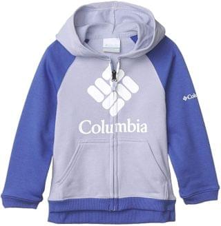 KIDS French Terry Full Zip (Little Kids/Big Kids). By Columbia Kids. 65.00. Style Twilight/African Violet.
