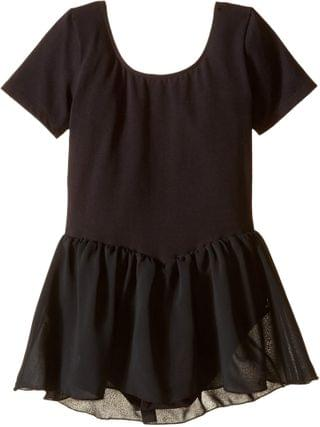 KIDS Short Sleeve Leotard with Chiffon Skirt (Toddler/Little Kids/Big Kids). By Bloch Kids. 28.00. Style Black. Rated 4 out of 5 stars.