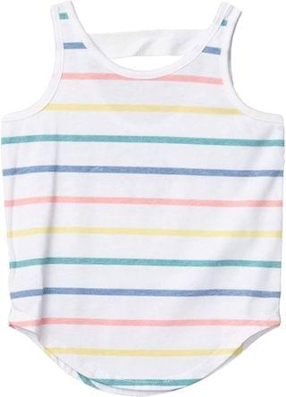 KIDS Recycled Vintage Jersey Scoop Back Shirttail Tank (Toddler/Little Kids). By Chaser Kids. 31.00. Style Multi Stripe.