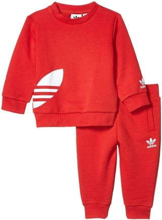 KIDS Big Trefoil Sweatsuit (Infant/Toddler). By adidas Originals Kids. 48.00. Style Lush Red/White.