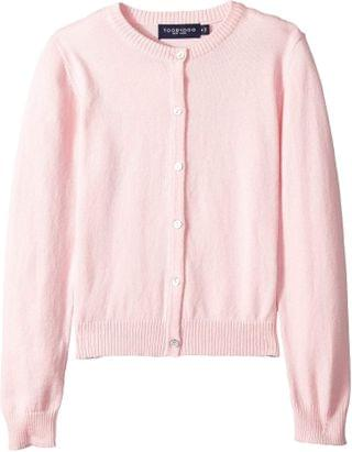 KIDS Cotton Cashmere Cardigan (Toddler/Little Kids/Big Kids). By Toobydoo. 40.50. Style Pink.