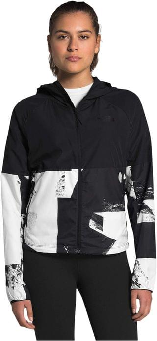 WOMEN Novelty Flyweight Hoodie. By The North Face. 89.95. Style TNF Black Drop City Print/TNF Black.