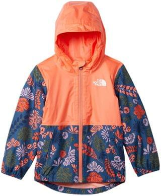 KIDS Zipline Rain Jacket (Toddler). By The North Face Kids. 54.95. Style Lavender Mist Wallflower Print.