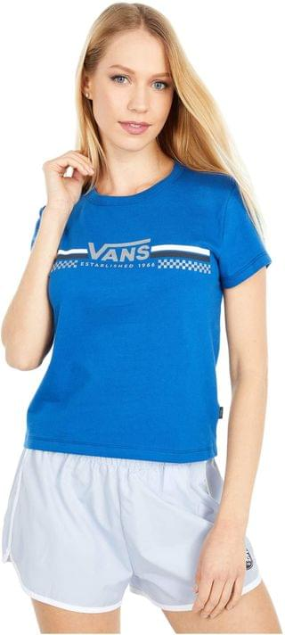 WOMEN Sporty Baby Tee. By Vans. 34.45. Style True Blue.