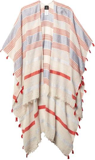 WOMEN La Playa Stripe Ruana. By Echo New York. 40.99. Style White. Rated 2 out of 5 stars.