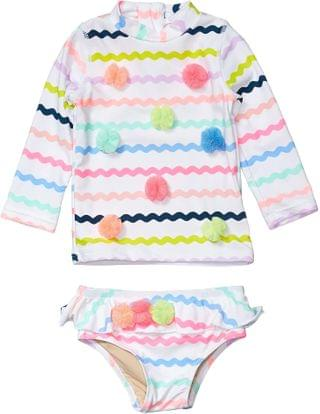 KIDS Two-Piece Rashguard Rick Rack Set (Infant/Toddler). By shade critters. 40.99. Style Multi.
