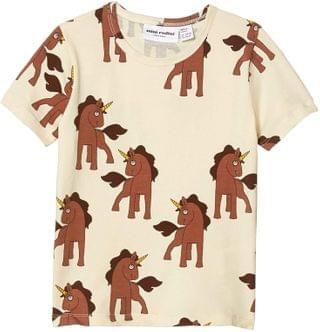 KIDS Unicorns All Over Printed Short Sleeve Tee (Infant/Toddler/Little Kids/Big Kids). By mini rodini. 49.00. Style Off-White.