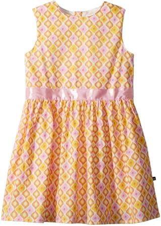 KIDS Pink and Yellow Garden Party Dress (Toddler/Little Kids/Big Kids). By Toobydoo. 37.83. Style Pink/Yellow.
