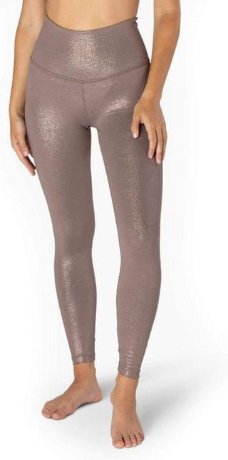 WOMEN Twinkle High Waisted Midi Leggings. By Beyond Yoga. 69.99. Style Mocha Brown/Rose Gold Twinkle. Rated 5 out of 5 stars.